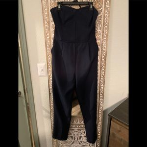 Sweetheart neck jumpsuit